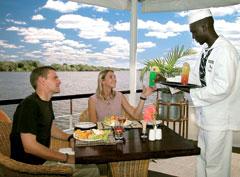 African Queen Lunch Zambezi