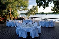 African Queen Restaurant Victoria Falls Zambia Zambezi
