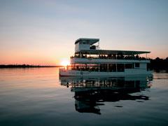 African Queen Ship Sunset Zambezi