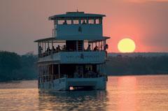 African Queen Sunset Cruise Zambezi River