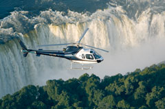 Batoka Sky Helicopter over Victoria Falls