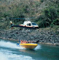Jet Boat Helicopter Lift Zambezi