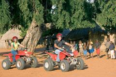 Livingstones Quad Biking Zambia