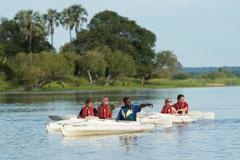 Makora Quest Canoe Safari Zambezi