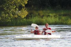 Makora Quest Couple Canoe Zambezi River