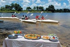 Makora Quest Lunch Picnic Zambezi Canoe