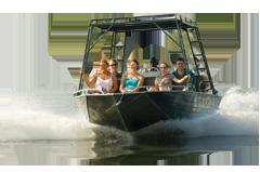 Victoria Falls River Safari Boat