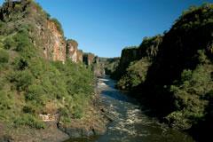 Zambezi River Gorge Victoria Falls