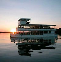 African Queen on the Zambezi River